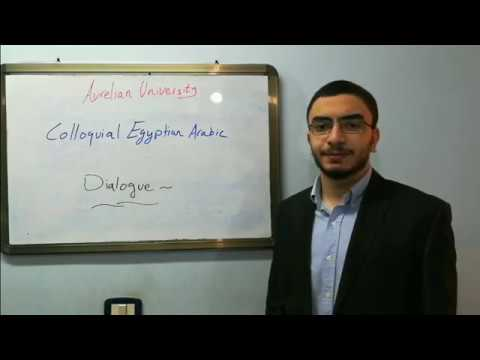 Tutors- Youssef: A Conversation About International Food In Colloquial Egyptian Arabic
