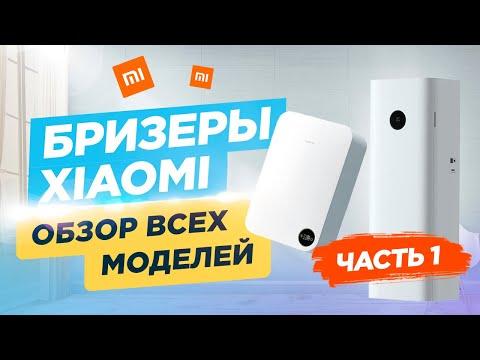 Бризеры Xiaomi. Обзор всех моделей - Часть 1