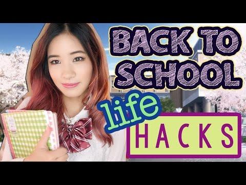 10 BACK TO SCHOOL LIFE HACKS YOU NEED TO KNOW! |  KimDao