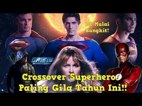 Cara Nonton Crisis On Infinite Earths | Seluruh Aktor Hero Lama DC Main Lagi!