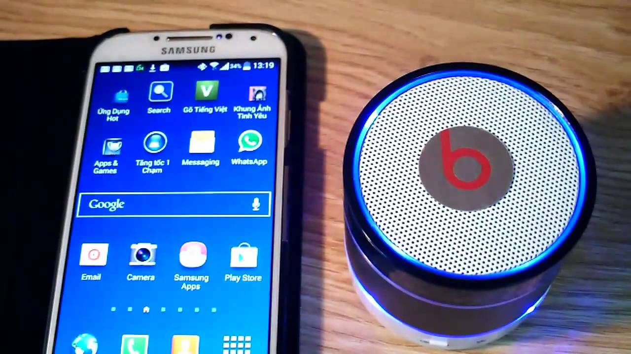 How To Connect Wireless Bluetooth Speaker To Your Phone Youtube