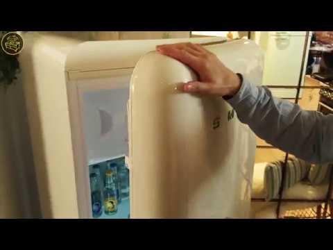 Smeg Kühlschrank Disney : Smeg fab28 das neue modell von innen youtube