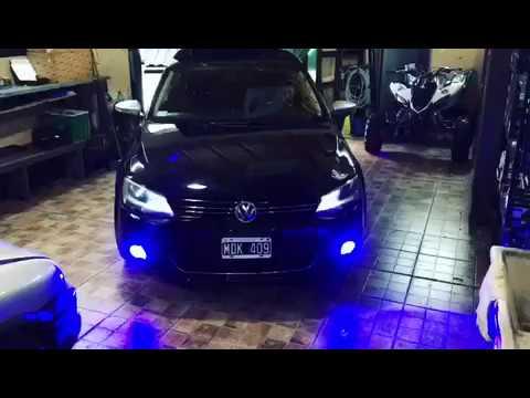 VW VENTO 2 0T CREELED BI COLOR BLUE WHITE FLASHES SUSPENSION EIBACH