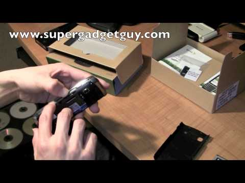 Unboxing Samsung Replenish on Sprint PCS