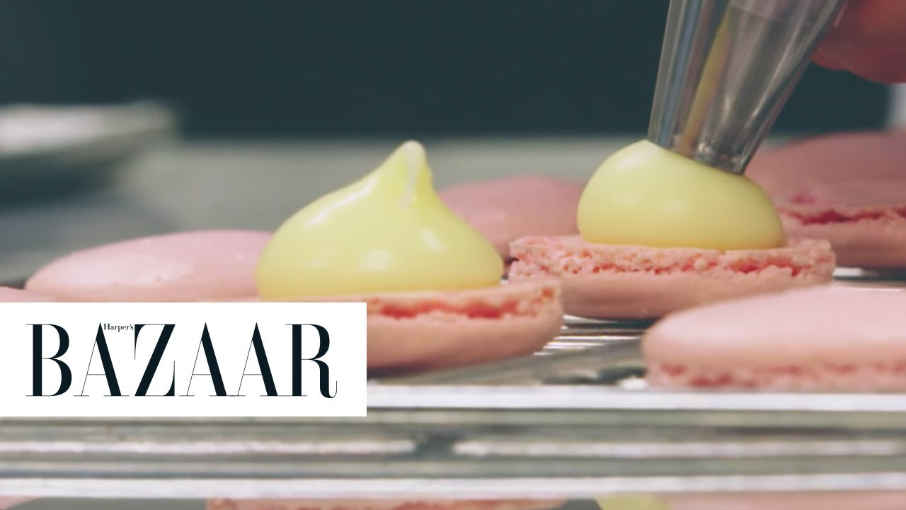 Директно од Ladurée - Како се прават познатите макаронс колачиња ?