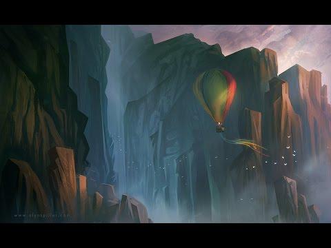 Digital Painting Timelapse – Fantasy landscape 01