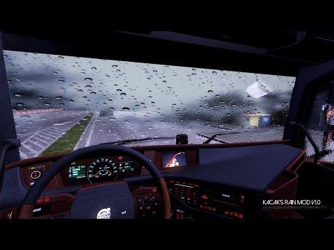 euro-truck-simulator-2- -kacak's-rain-mod-v1.0- -awesome-&-realistic- 