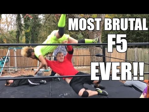 WWE ATTITUDE ERA SUPERSTAR SAVES INDY WRESTLERS FROM INSANE F5's!