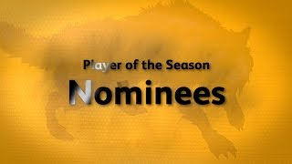 Wolves Player of the Season 2016-17 Nominees