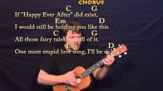 Payphone (Maroon 5) Easy Baritone Ukulele Cover Lesson with Chords & Lyrics
