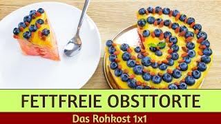 Nur 3+3 Zutaten für die fruchtigste Obsttorte des Sommers (80/10/10)