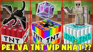 Quả TNT Và Con Pet Vip Nhất Minecraft ??