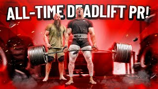 ALL-TIME DEADLIFT PR!