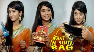 Shivangi Joshi's Handbag SECRET REVEALED | What's In Your Bag