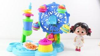 Niloya Play Doh Dönen Pasta Seti Açıyor Maşa Ve Niloya Renkli Pastalar Yapıyor