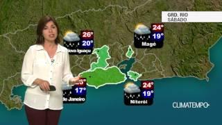 Previsão Grande Rio – Tempo fica instável