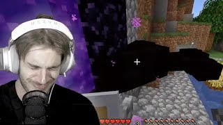 Pewdiepie Losing his Loved Ones in Minecraft for 15 Minutes Straight | Minecraft Funny Moments