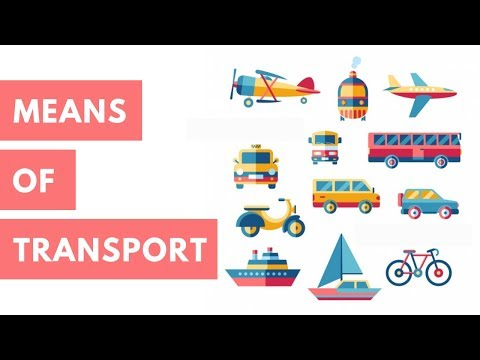 Class 2 EVS - Means of Transport For Kids   CBSE Board - YouTube