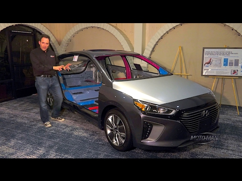 2017 Hyundai Ioniq Hybrid, PHEV & EV TECH REVIEW: A 3 Car Offensive Against The Toyota Prius