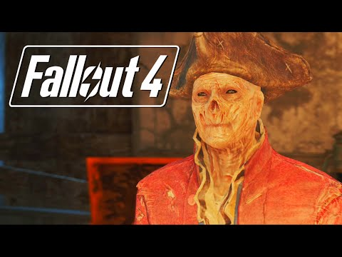 Fallout 4: John Hancock Gay Romance Complete All Scenes(Ghoul)