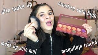 Mi primer tutorial de maquillaje (o algo asi)