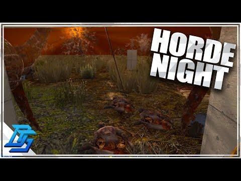 BIGGEST HORDE TO DATE, HORDE NIGHT!  - 7 Days To Die - S2- Pt. 29 (Alpha 16)
