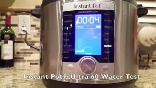 Instant Pot Ultra 6 Qt 10 in 1 Pressure Cooker Review