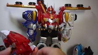 豪宅玩具~1351~超級戰隊2010天裝戰隊護星者天装戦隊ゴセイジャー陸族護星巨人 海族護星巨人空族護星巨人