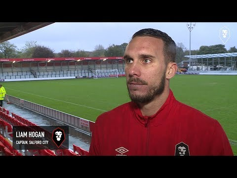 Salford City 3-2 York City - Liam Hogan post-match interview