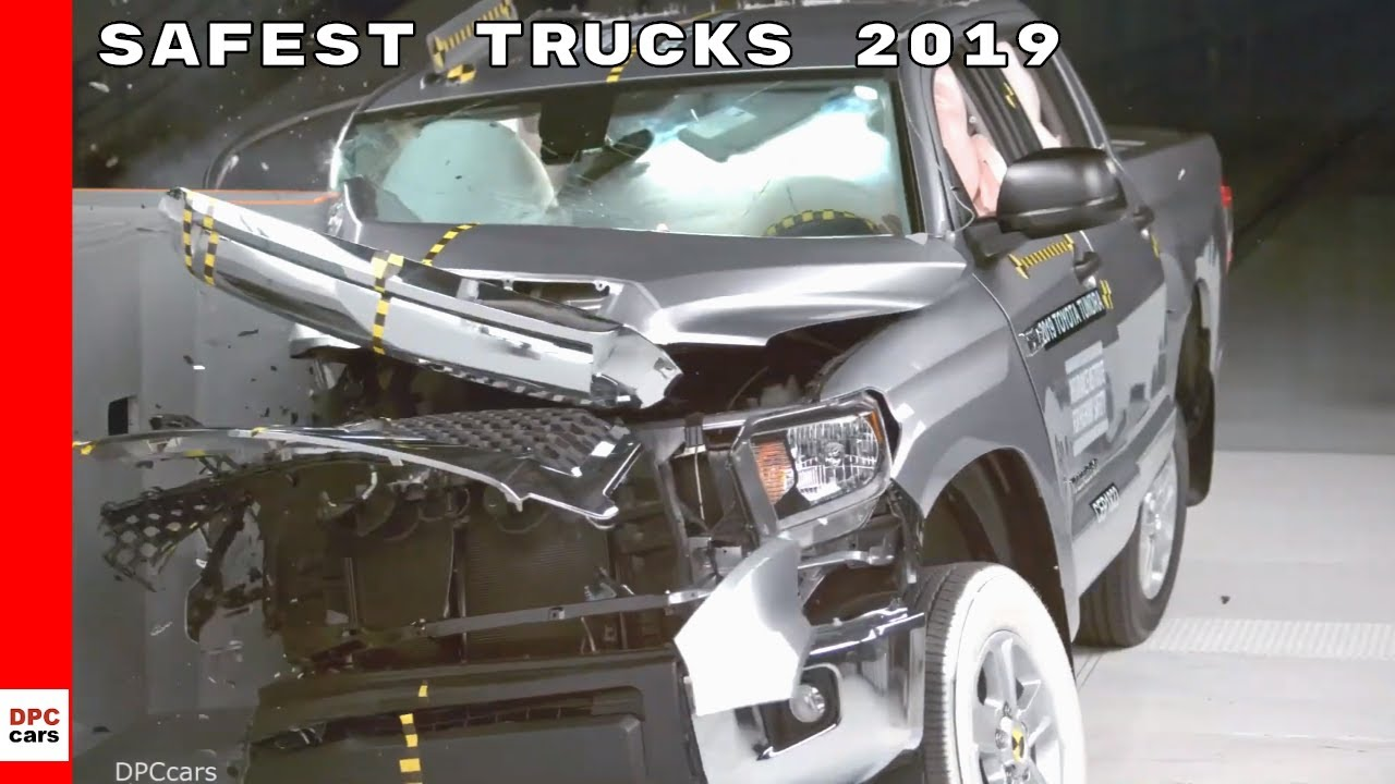 Safest Trucks 2019 Pickup Truck Crash Tests