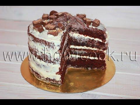 "Super chocolate cake ""Dark Larry"""