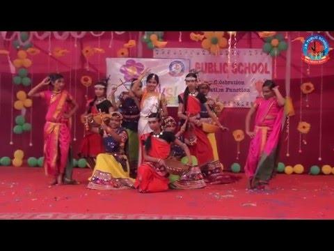 Cultural Folk Dance, India - J. B. PUBLIC SCHOOL