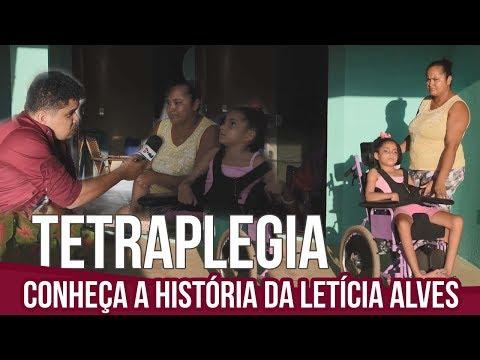 Erro médico deixa criança tetraplégica no Oeste da Bahia.Vídeo