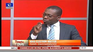 Kogi Poll: APC Is Disappointed In INEC – Former Lawmaker 26/11/15 Pt. 2