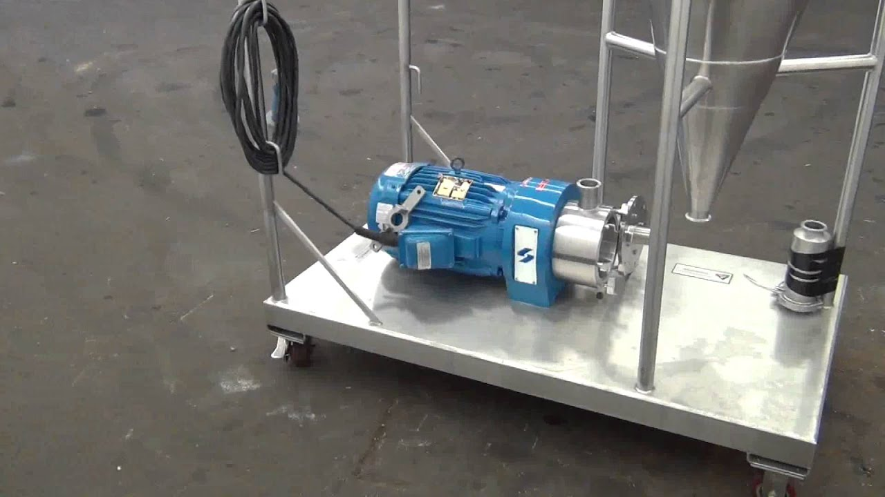 Used- Silverson High Shear In-Line Mixer - stock # 43004001