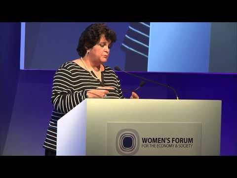 Women's Forum Brazil 2013 -Sessao plenaria-Discurso de abertura de V.Morali e discurso de I Teixeira