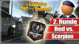 #CoDZelos Halbfinale // Red vs. Scorpion  // 2. Runde SuZ auf Standoff