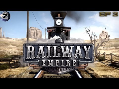 """""""Omaha to Rock Springs"""" Railway Empire Campaign Gameplay! EP 3"""