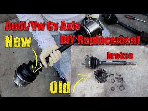 AUDI / VW CV Axle FAILURE *Exploded!!!* ($100 DIY Repair)