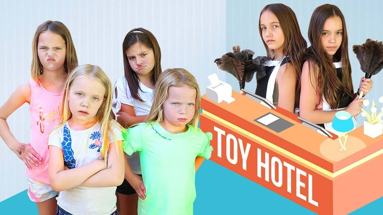Trouble at the Toy Hotel - YouTube