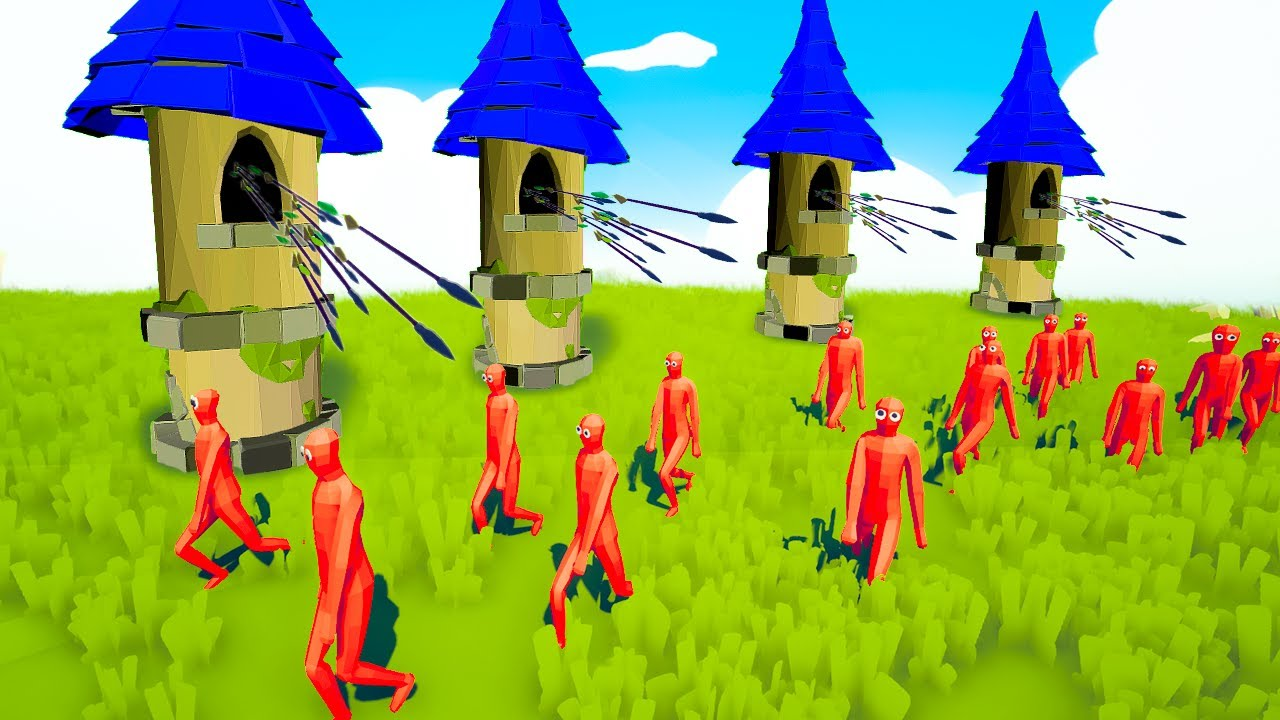 TABS but it's a TOWER DEFENSE GAME! - Totally Accurate Battle Simulator