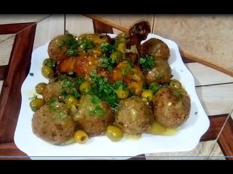 وصفات-رمضان-:كريات-الباذنجان-باللحم-المفروم-(-boulettes-d'aubergine-à-la-viande-hachée)