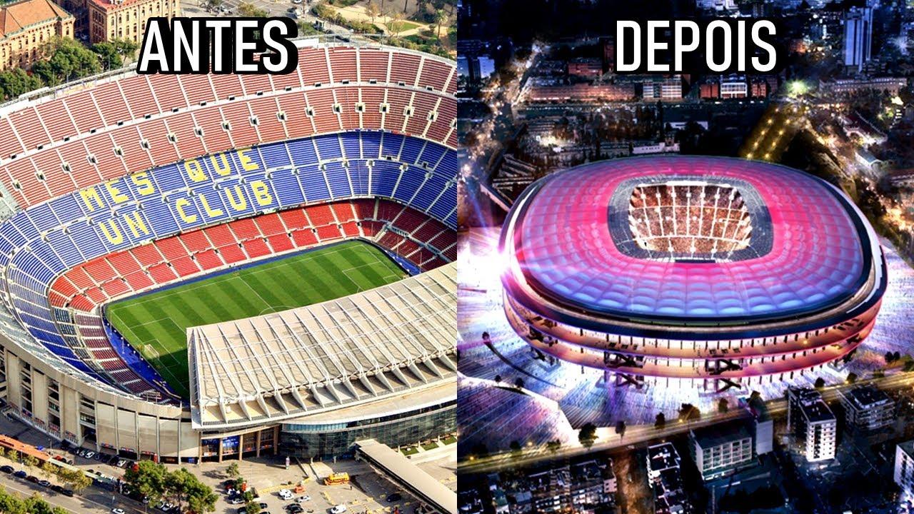 Conheça o NOVO CAMP NOU, a casa nova do Barcelona a partir de 2024