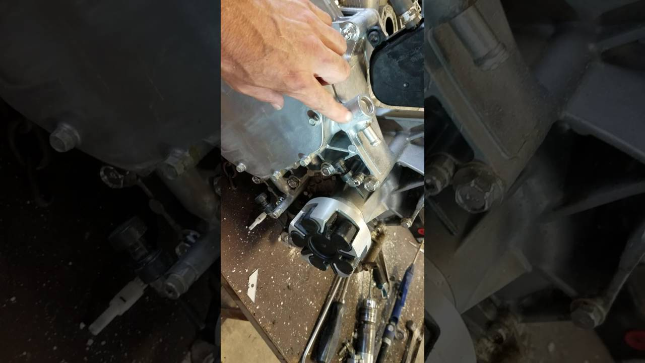 Yamaha VX Waverunner cooling system blockage