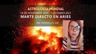 Marte Directo en Aries - La revolución comenzó