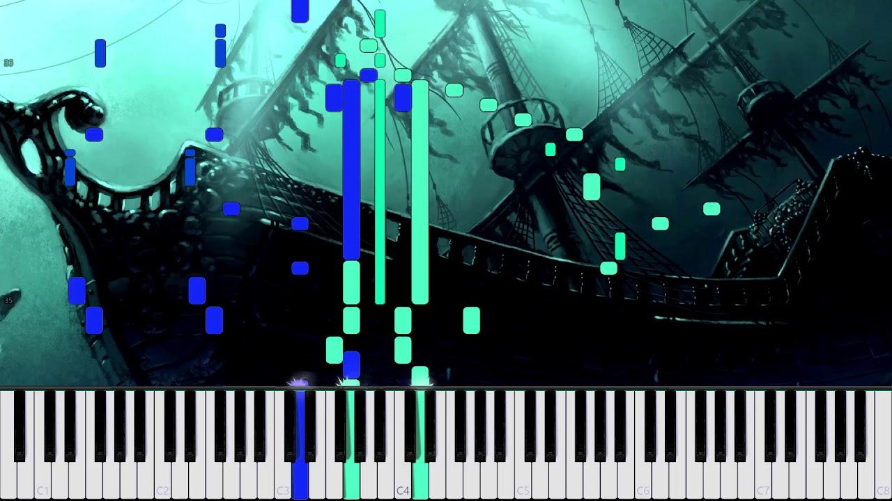 Dire, Dire Docks (Battle Theme Remix) - Super Mario 64 [Piano Tutorial]  (Synthesia) //AqareCover