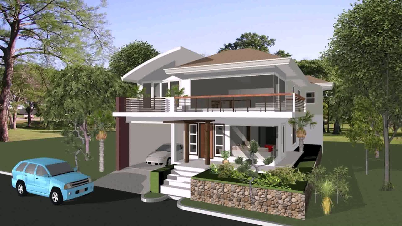 Farm house design in philippines youtube for Farm house model