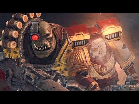 VETERAN of Blood Ravens vs 600+ Orks! - Warhammer 40K: Space Marine | Exterminatus (1-5 waves) SOLO |