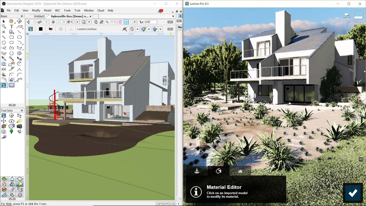 Download Lumion LiveSync for Vectorworks – Lumion