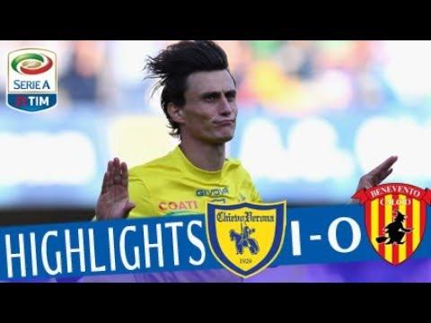 Chievo - Benevento 1-0 - Highlights - Giornata 38 - Serie A TIM 2017/18